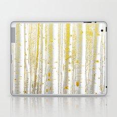 255 Gold Birch Laptop & iPad Skin
