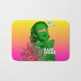 Come rain, come shine Bath Mat