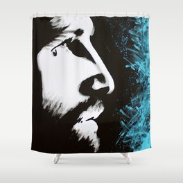 Forgiven Jesus Painting Shower Curtain