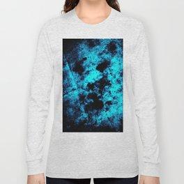 Aqua Distress Long Sleeve T-shirt