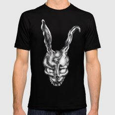 Donnie Darko LARGE Black Mens Fitted Tee