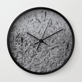 Hay farming Wall Clock