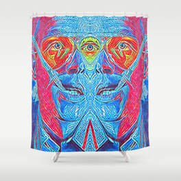 Fear and Loathing Shower Curtain