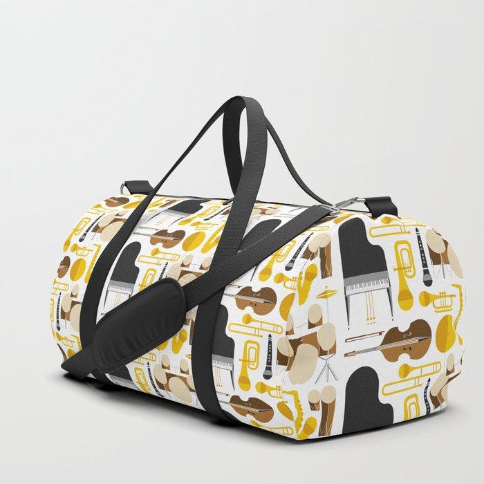 Jazz instruments Duffle Bag