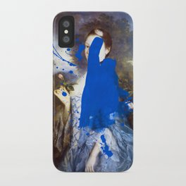 Blue Bomb iPhone Case