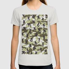 Skater Camo WOODLAND T-shirt