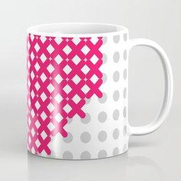 cross embroidered heart Coffee Mug