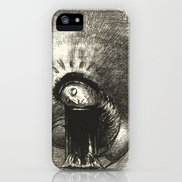 """Odilon Redon """"... une longue chrysalide couleur de sang"""" iPhone Case"""