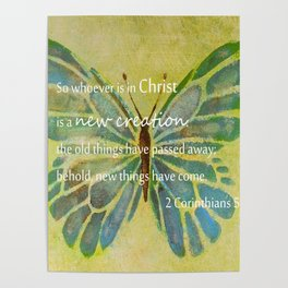 2 Corinthians 5:17 Poster