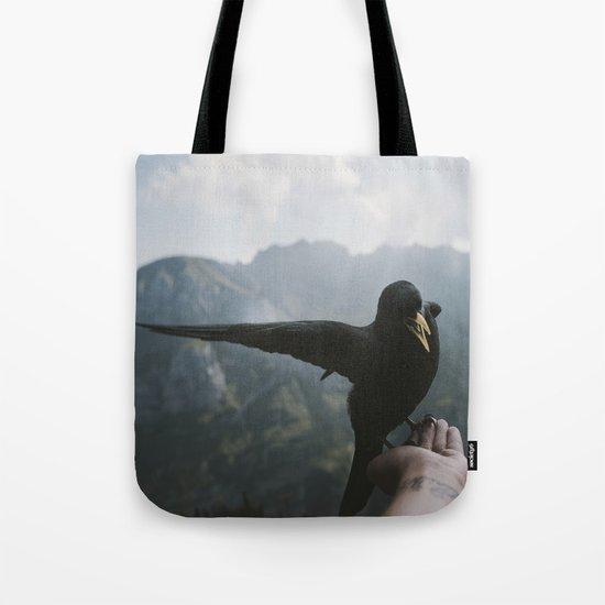 A wild Bird - landscape photography Tote Bag