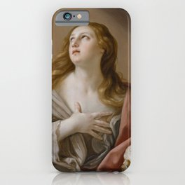 The Penitent Magdalene - Mary Magdalene - Guido Reni iPhone Case
