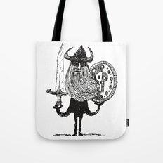 Sword, Beard & Shield Tote Bag