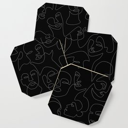 Face Lace Coaster