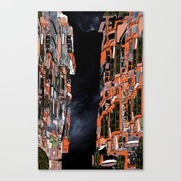 Nepal Apartments Canvas Print