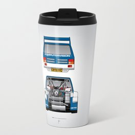 Outline Series N.º7, MG Metro 6R4, 1986 Travel Mug
