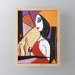 Girls Night Out Framed Mini Art Print