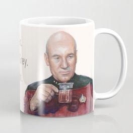 Tea. Earl Grey. Hot. Captain Picard Star Trek | Watercolor Coffee Mug