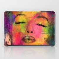 marilyn iPad Cases featuring MARILYN  by mark ashkenazi