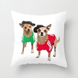 Run DMChi Throw Pillow