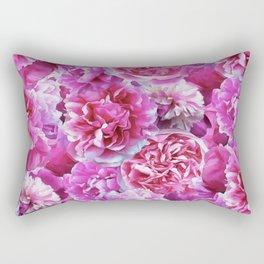 Lovely pink peonies Rectangular Pillow