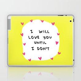 Love Note #1 Laptop & iPad Skin