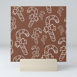 Christmas pattern 10 Mini Art Print