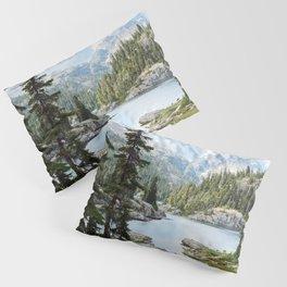 Summer in the Cascades Pillow Sham