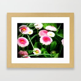 Strawberries and Cream Framed Art Print
