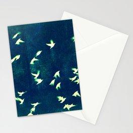 Retro Birds Stationery Cards