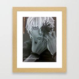 Blossoming Ghoul Framed Art Print