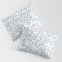 Japanese Wave Pillow Sham