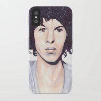 luke hemmings iPhone & iPod Cases featuring Luke by Daniela Herodesová
