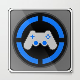 Playstation Gamer Metal Print