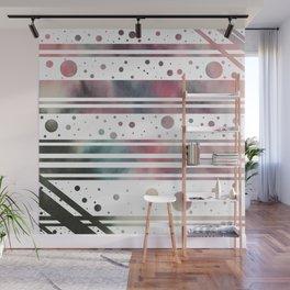 Watercolor Geometrics Wall Mural