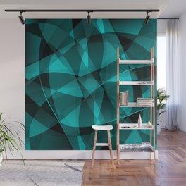 Minimal geometric background Wall Mural