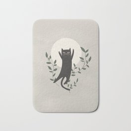 Stay Paw-sitive Bath Mat