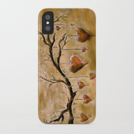 Der Liebesbaum (in Acryl) iPhone Case