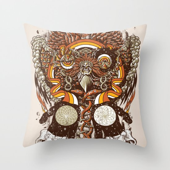 Dreams of a Feather Throw Pillow