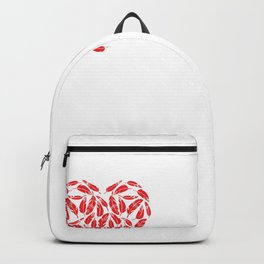 I Heart Hoopoes | Love Hoopoe Birds Backpack