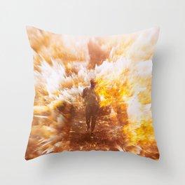 REBIRTH Throw Pillow