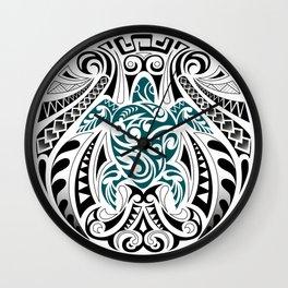 Turtle medal Wall Clock