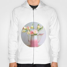 Coffee, Tea or Flowers Hoody