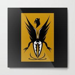 FIRE BIRD  Metal Print