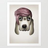 butcher billy Art Prints featuring Billy by Giada Engelke-Oelbracht