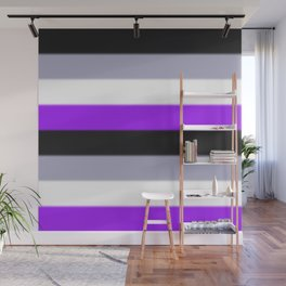 Asexual Pride Flag v2 Wall Mural