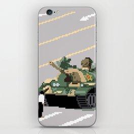 Pixelated Tank Man iPhone Skin