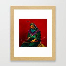 Cherokee Indian Pop Art Framed Art Print