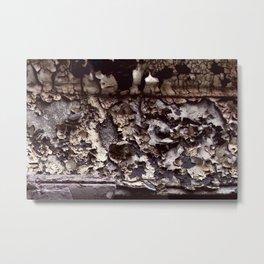 Chipped Metal Print