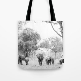 Luangwa Family Tote Bag