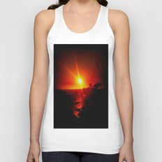 As the Sunsets Unisex Tank Top